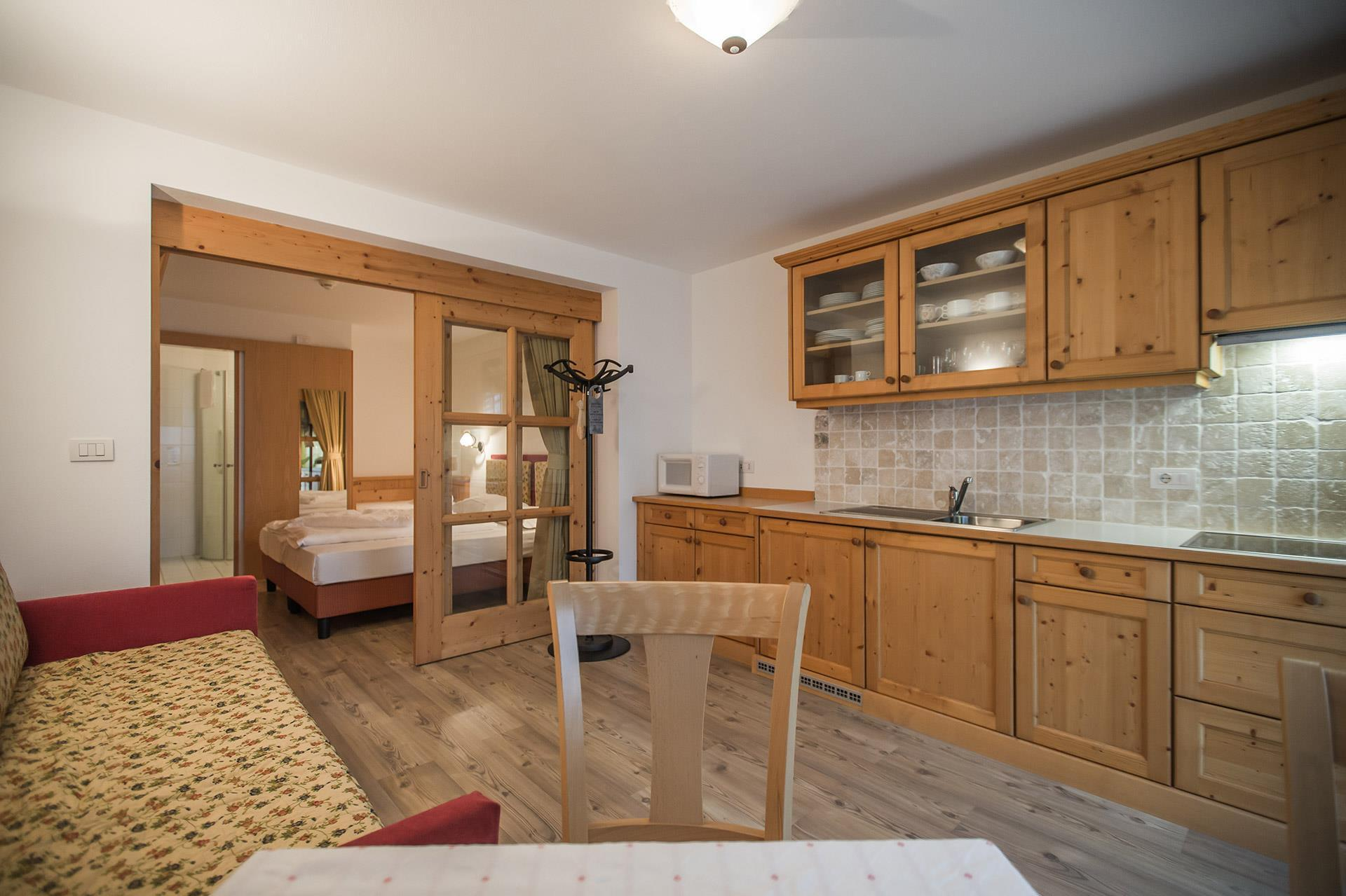 Apartments in Gais near Brunico - holidays in Val Pusteria - Garden ...